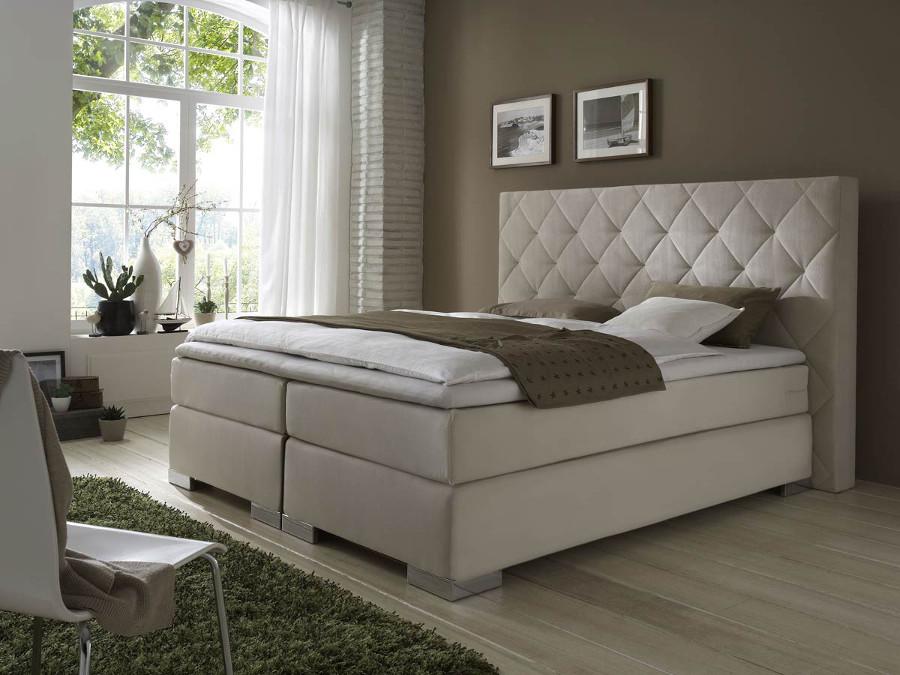 boxspringbett hotelbett polsterbett matratze topper w hlbar gr e 180 200 cm ebay. Black Bedroom Furniture Sets. Home Design Ideas