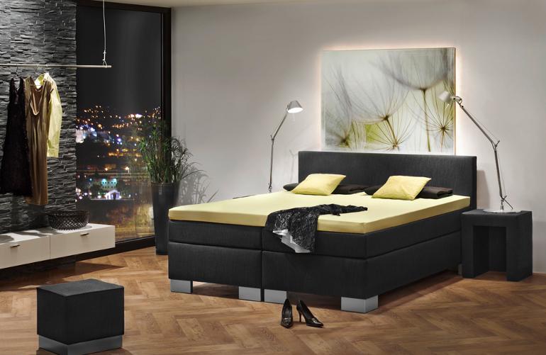boxspringbett 180 200 komplett luxus bett hotelbett topper 10 cm medicott ebay. Black Bedroom Furniture Sets. Home Design Ideas