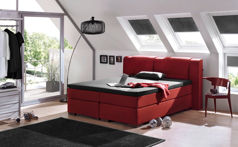 boxspringbett 180 200 komplett luxus bett hotelbett selbst zusammenstellen ebay. Black Bedroom Furniture Sets. Home Design Ideas