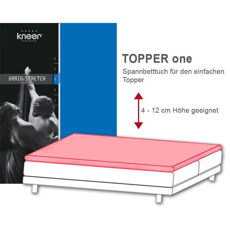 vario stretch one boxspringbett spannbetttuch q22 l nge. Black Bedroom Furniture Sets. Home Design Ideas