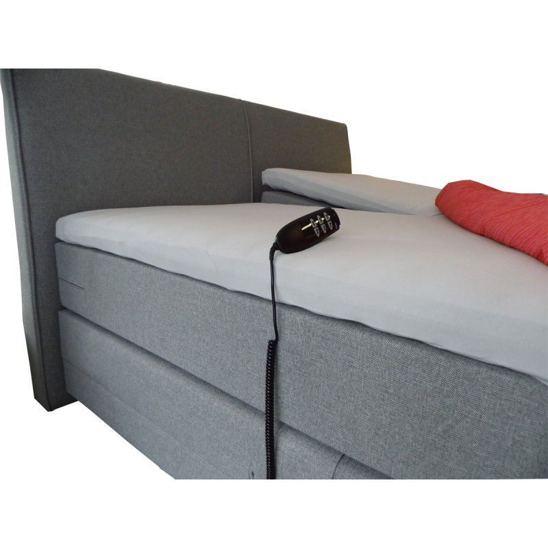 boxspringbett chapeau elektrisch verstellbar 180 x 200 cm ebay. Black Bedroom Furniture Sets. Home Design Ideas