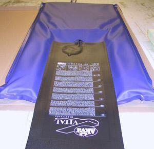 akva vibrationsmassage matte 455 00. Black Bedroom Furniture Sets. Home Design Ideas
